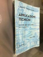GG LIBRO: APPLICAZIONI TECNICHE - C.GRIMALDI G.RIZZARDI TEMPINI - CAPPELLI