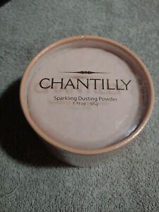 VINTAGE CHANTILLY SPARKLING DUSTING POWDER 1.75OZ rare brand new