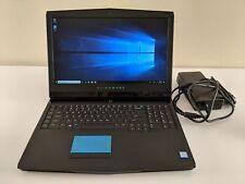 Alienware 17 R4 WQHD i7-7820HK 2.90GHz 32GB RAM 1TB HDD 256GB SSD GTX 1080 120Hz