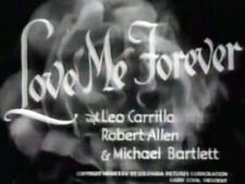 LOVE ME FOREVER (DVD) - 1935 - Grace Moore, Leo Carrillo