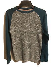 Art Class Boys Green Size XL (16) Raglan Sleeve Sweater