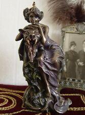 Les Belle et la bête Sculpture dans ART NOUVEAU MUCHA