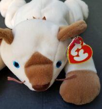 "TY MEOW Siamese Cat Stuffed Plush Toy Pillow Pals 12"""