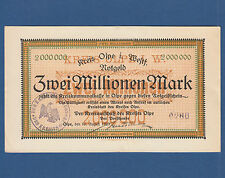 Olpe 2 millones de marcos 1923 II/XF