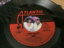 "ABBA SUPER TROUPER ~ THE PIPER  PIC SLEEVE  45 RPM VINYL 7"" C3"