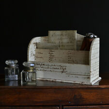 Edwardian Letter Holder With 18th Century Scripture Covering