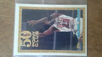 1993 Topps Gold 50 Points Club #64 Michael Jordan Bulls very good condition
