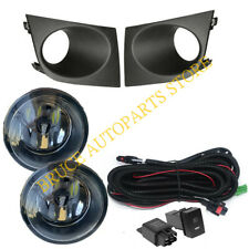 For Nissan Tiida / Latio 2005-2008 Bumper Bezel LED Bulb Fog Light Wiring k Set