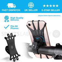 Bicycle Bike Phone Holder Mountain Road Bike Handlebar Mount Bracket Silica gel