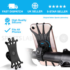 Bicycle Bike Phone Holder Mountain Road Bike Handlebar Mount Bracket Silica gel