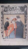 Rivista Jeans Che Rit N° 410 1908 Giornale Illustre che Appaiono Il Venerdì ABE