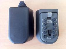 CHIAVE di sicurezza esterni al sicuro titolare serratura a combinazione a pulsante può contenere 5 CHIAVI