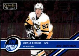 2017-18 O-Pee-Chee Platinum Hockey In Action Insert Singles (Pick Your Cards)