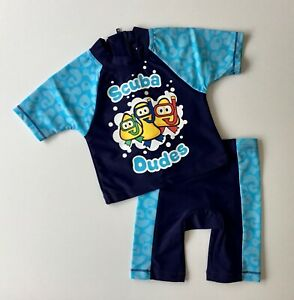 New Cbeebies UPF 50 Sun Suit Age 12 Mnths to 6 Yrs - Free 1st Class Postage