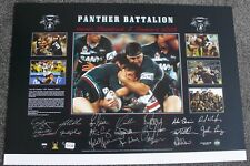 PENRITH PANTHERS  TEAM SIGNED PREMIERS PRINT  GRAIG GOWER