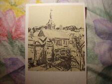 Ansichtskarte, Postkarte, Kunstkarte, Ravensburg, St. Jodok Kirche