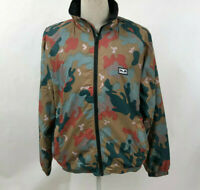 Obey Men's Mock Neck Softshell Jacket Lense Drip Camo Size M NWT Andre
