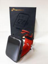 "Techmade Techwatchm3-rd Smartwatch M3 Mini Display 1.54"" Bluetooth Nero / Rosso"