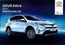 Toyota New Rav 4 2015 catalogue brochure tcheque czech