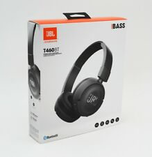 JBL T460BT - Wireless On-Ear Kopfhörer - schwarz/black - Bluetooth - Neu & OVP