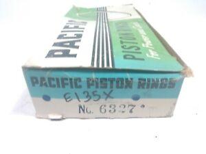 Engine Piston Ring Set Pacific Piston Ring Set 6327 / E135X, Standard Size