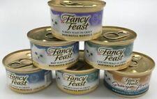Purina Fancy Feast 6 PAK Mixed Lot Wet Cat Food; Beef, Chicken, and Turkey Feast