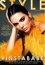 STYLE Magazine 7/09/2014 WORLD OF KENDALL JENNER: KARDASHIANS ...& BALMAIN @New@
