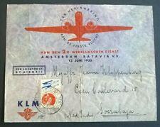Luchtpost Amsterdam - Soerabaja (Ned Indië) 12-6-1935 BC02