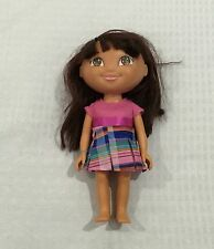 "8.5"" DORA THE EXPLORER PLASTIC DOLL WITH CLOTHING"