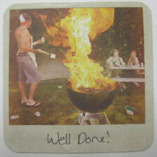UNDERDOG WELL DONE GRILL AFIRE Beer COASTER Mat Frederick MARYLAND 2013 COLORADO