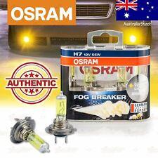 2x H7 477 OSRAM Fog Breaker DuoBox YELLOW Spot Bulbs 2600K Lamps for LOW BEAM
