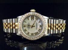 Rolex Datejust Midsize Two Tone 18K/ Steel Gold 31MM 78273 Diamond Watch 3.0 Ct