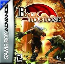 Back to Stone GBA New Game Boy Advance