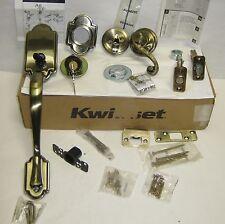 Kwikset Antique Brass 1 Cyl Arlington Lido Smart Key (800AN5SMT 966LLLH)