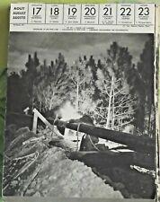 1957 Soudure d'un Pipe-Line dans les Landes ,Soldering à Pipe-Line art print