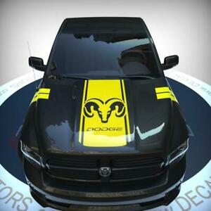 Pickup Truck Hood Decal Vinyl Racing 3M Stripe Custom Design