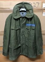 GENUINE USAF VIETNAM JACKET MANS COTTON SATEEN 1961 W/ LINER SUPER EX !!!! SMALL