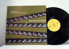 HUGH DAVIES LP Shozyg music for invented instruments 1982 FMP Be! Jazz RE vinyl
