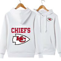 Kansas City Chiefs Hoodie Casual Sweatshirt Pullover Hooded Coat Gift For Fans