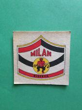 FIGURINA STICKERS CALCIATORI PANINI 1974-75 MILAN CALCIO GRADO FUORI RACCOLTA