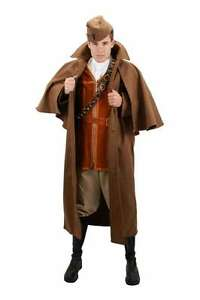 Steampunk Inverness Coat Brown Victorian Era Long Sleeved Outer Wear Coat Lg