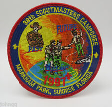 Boy Scout BSA 1997 38th Scoutmasters Camporee Markham Park Sunrise FL Patch