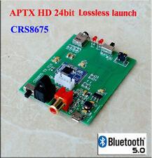 Bluetooth 5 csr8675 Transmitter Support Aptx HD Coaxial Optical Analog Input