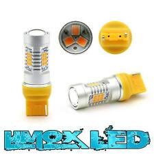 2x W21W 7440 LED W3x16d T20 21 SMD 10W Orange Lampe Standlicht Rücklicht Birne