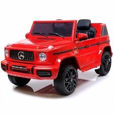 B-WARE Elektrisches Kinderauto Elektroauto für Kinder Mercedes Benz G63 ROT