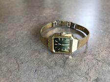 Seiko Women's 17 Jewel Watch Gold Plated Runs Great 11-3990
