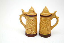 Vintage rare stein Salt & Pepper Shakers Made in Japan for the Caribbean 60 s