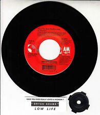 "BRYAN ADAMS  Have You Ever Really Loved A Woman? 7"" 45 record + juke title strip"