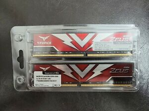 Teamgroup T-Force Zeus 64gb kit (2x32gb) ddr4 3000mhz ram Desktop Memory