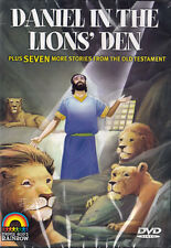 NEW Sealed Christian Animated DVD! Daniel in the Lions' Den (8 Bible Stories)